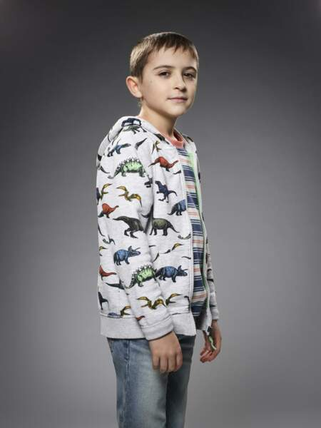 Il est interprété par le jeune acteur Jack Messina dont c'est le deuxième rôle