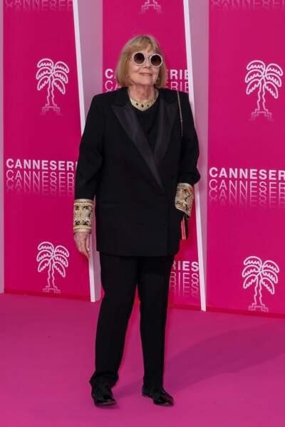 Dame Diana Rigg, l'invitée d'honneur de la cérémonie d'ouverture de Canneseries 2019