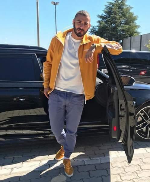Karim Benzema sort tout droit d'un clip de Tribal King