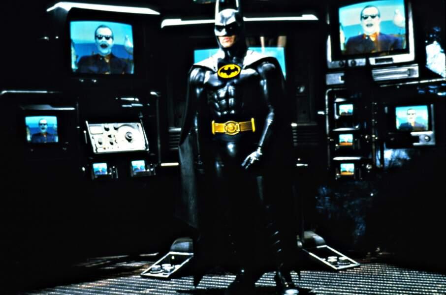 Le justicier face au joker dans Batman (1989)