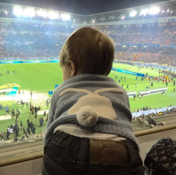 Sasha, le fils de Shakira, était au stade pour soutenir le Barça et son papa.