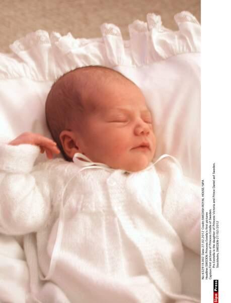 C'est une petite fille ! Estelle Silvia Ewa Mary naît le 23 février 2012