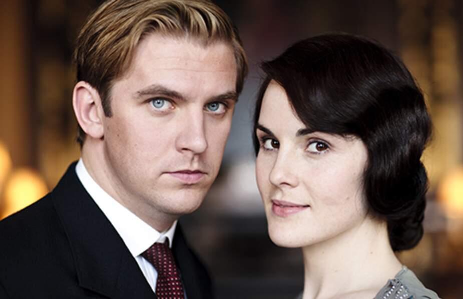 Matthew Crawley et Lady Mary Crawley