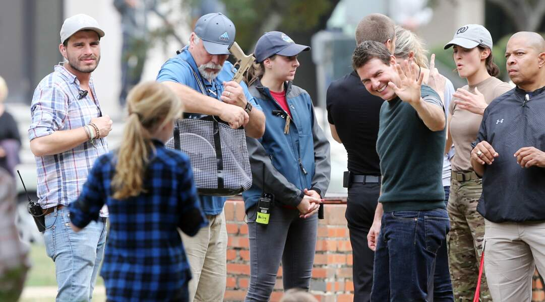 Tom Cruise a grillé les paparazzis sur le tournage de Jack Reacher 2