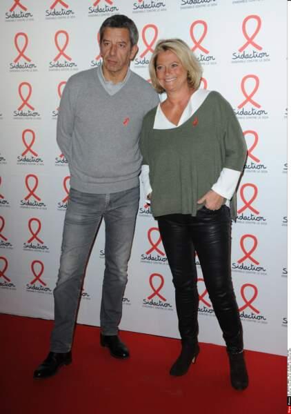 Michel Cymes et Marina Carrère d'Encausse, toujours aussi complices !