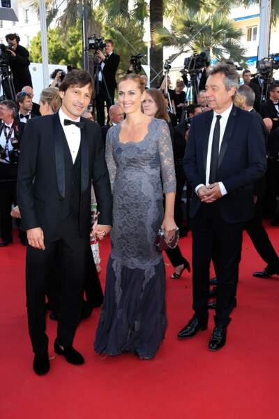 "Leonardo Nascimento de Araujo lors de la projection de ""Youth"" au Festival de Cannes 2015"