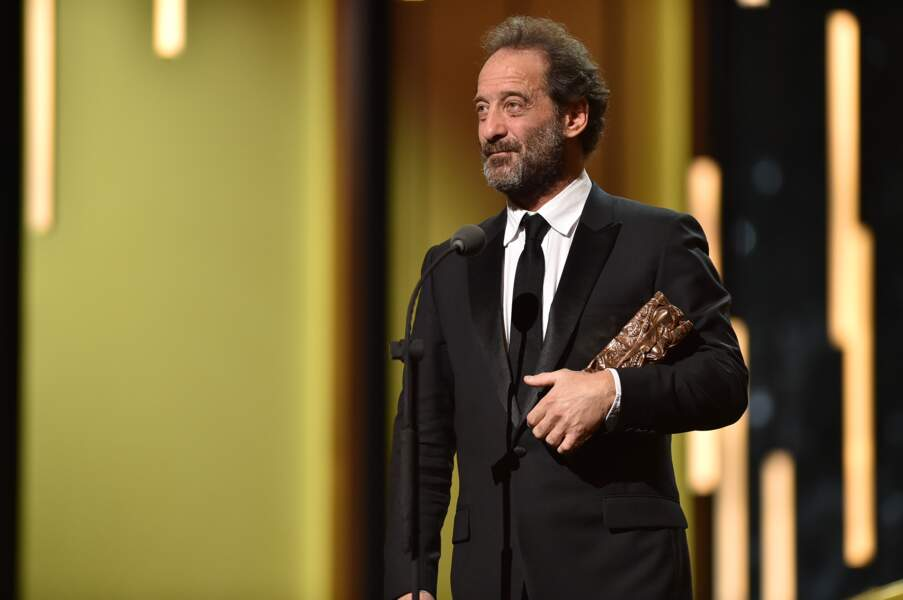 Nommé pour la 6e fois pour le César du meilleur acteur, Vincent Lindon est enfin reparti avec le trophée
