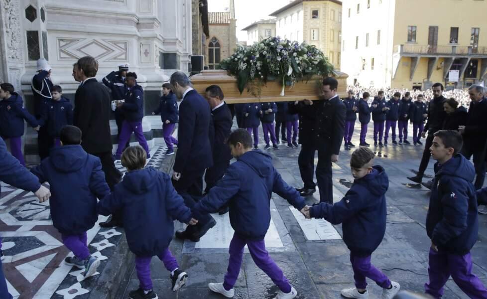 La cérémonie s'est tenue en la basilique Santa Croce de Florence