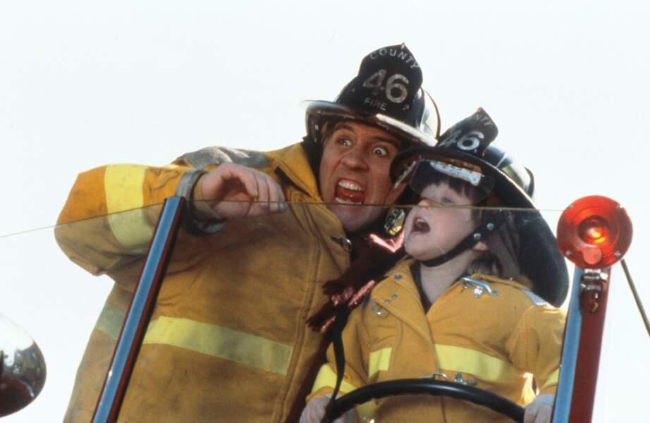 Avec le jeune Haley Joel Osment dans Bogus (1996)