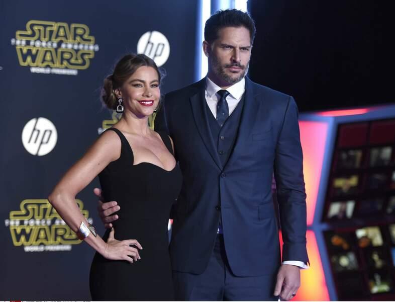 Sofia Vergara est venue avec son mari tout beau tout neuf Joe Manganiello, qu'elle a épousé le 21 novembre dernier