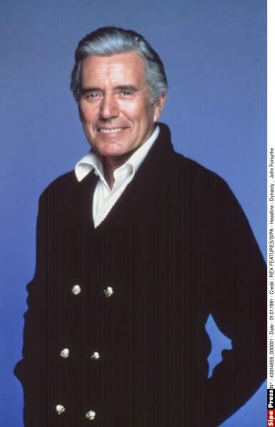 John Forsythe a incarné l'inoubliable Blake Carrington.