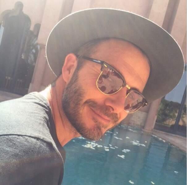 Et on termine en beauté avec David Beckham, qui a fait son arrivée sur Instagram