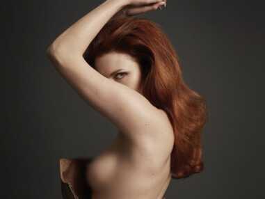 Le shooting topless et sexy d'Elodie Frégé pour Hipster Magazine