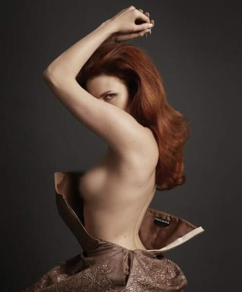 Sexy : Elodie Frégé pour Hipster Magazine