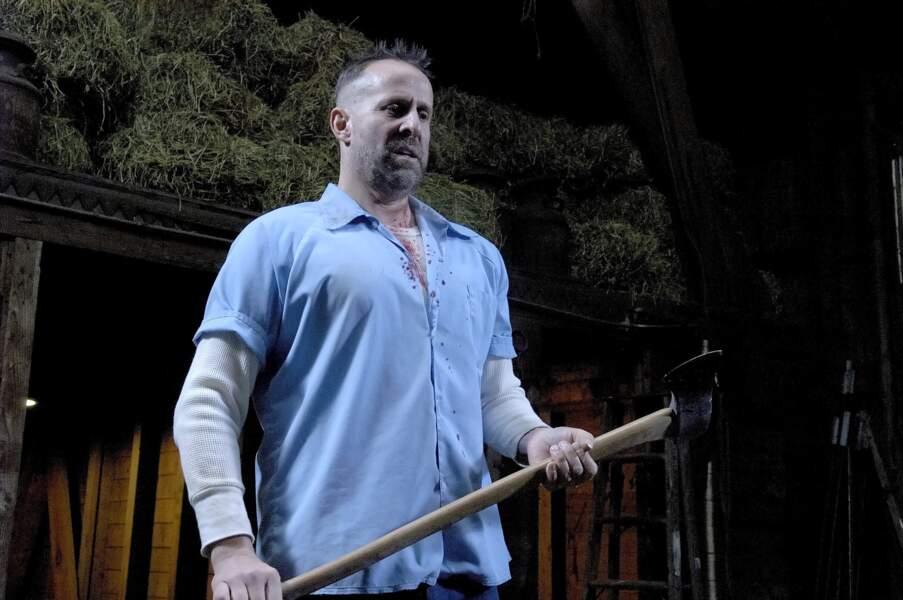 Peter Stormare jouait le rôle du mafieux John Abruzzi