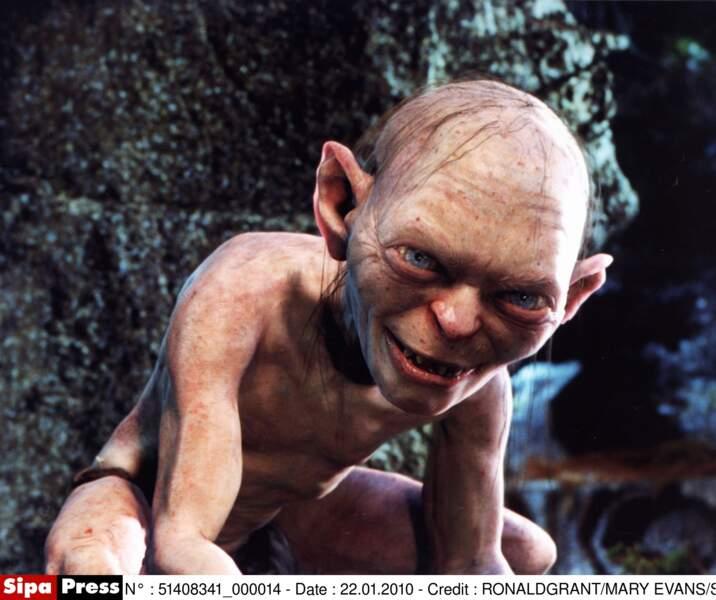 L'affreux et insupportable Gollum était incarné par Andy Serkis