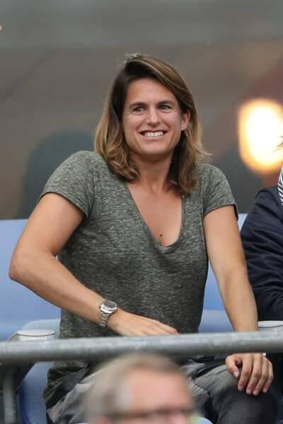 Amélie Mauresmo connaîtra à nouveau les joies de la maternité en 2017. MàJ : elle a accouché en avril