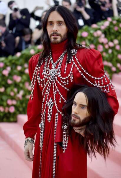 Jared Leto et son double.