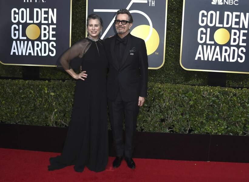Gisele Schmid et Gary Oldman
