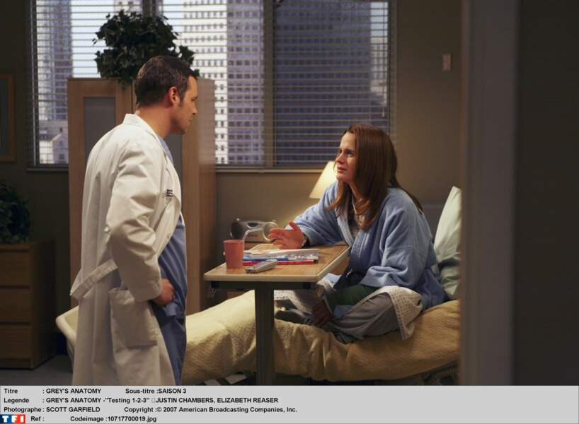 Dans la saison 3 de Grey's Anatomy, elle était Ava, la petite copine de Justin Chambers
