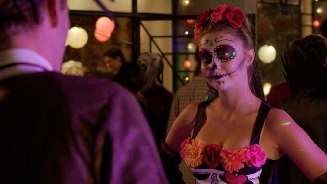 """Petite tenue digne du """"Dias de los Muertos"""" pour Jessica (Garance Teillet)"""
