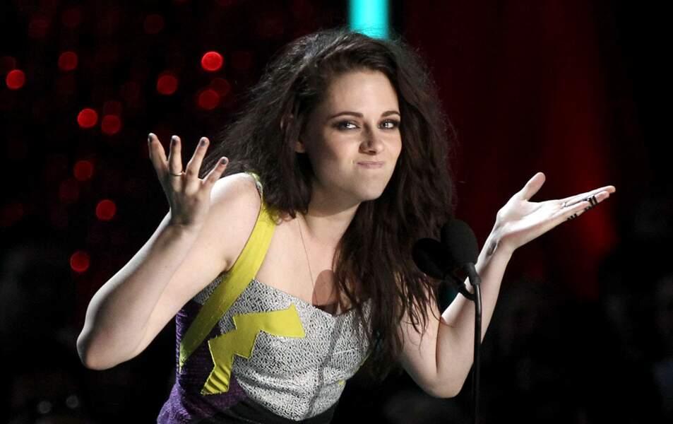 Elle n'y peut rien Kristen en même temps, elle est comme ça !