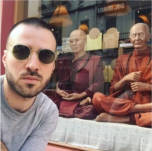 Jérémy Chatelain, futur moine bouddhiste ?