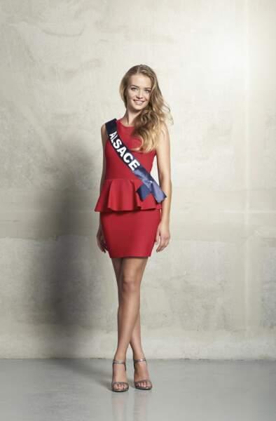 Laura Muller, Miss Alsace