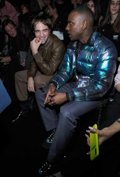 Robert Pattinson et Skepta étaient au premier rang du défilé Dior Homme