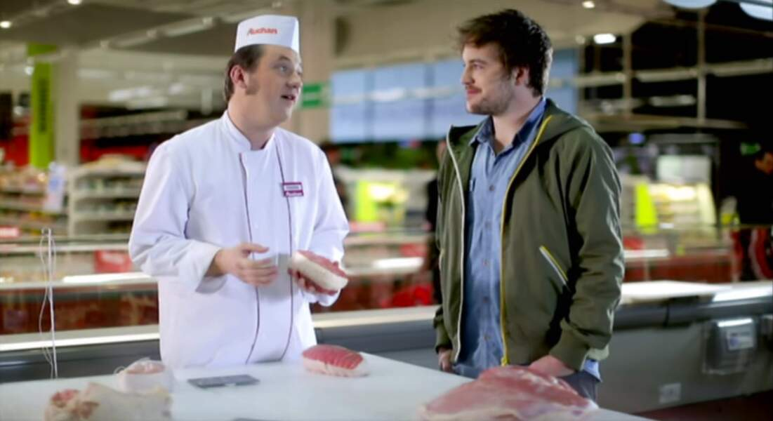 Oh une pub avec un candidat de Top Chef...