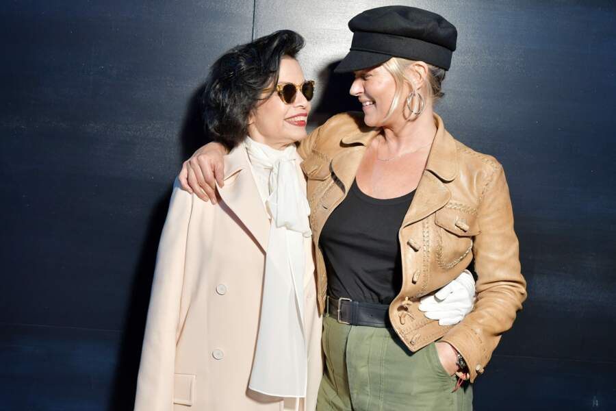 Bianca Jagger + Kate Moss = l'amour fou.