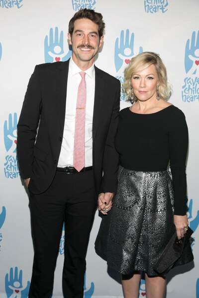 Côté coeur, Jennie Garth a retrouvé l'amour avec l'acteur David Abrams