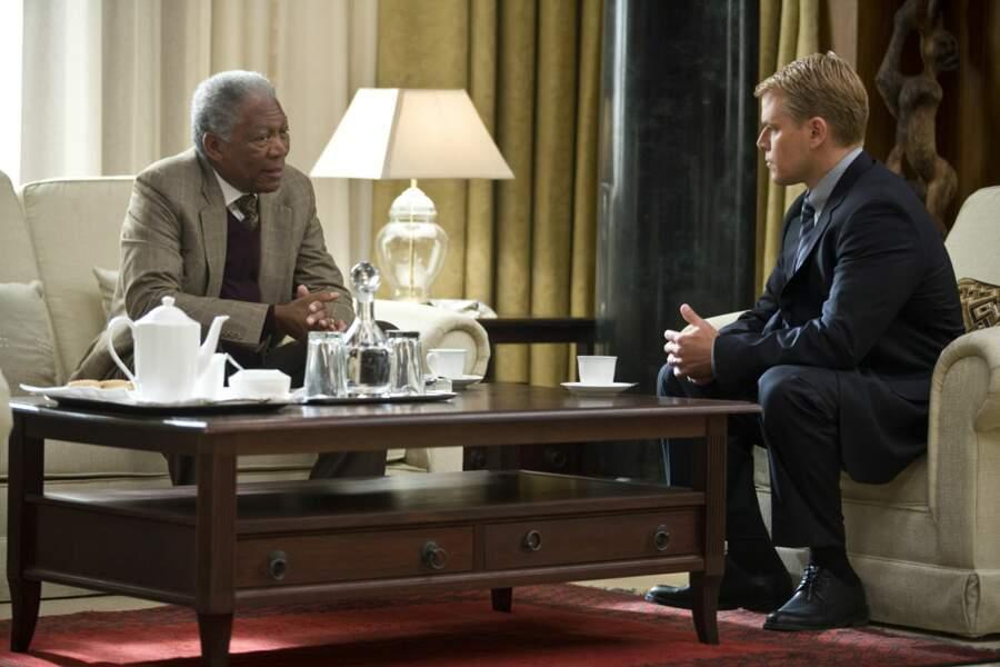 2010. Morgan Freeman est Nelson Mandela dans Invictus