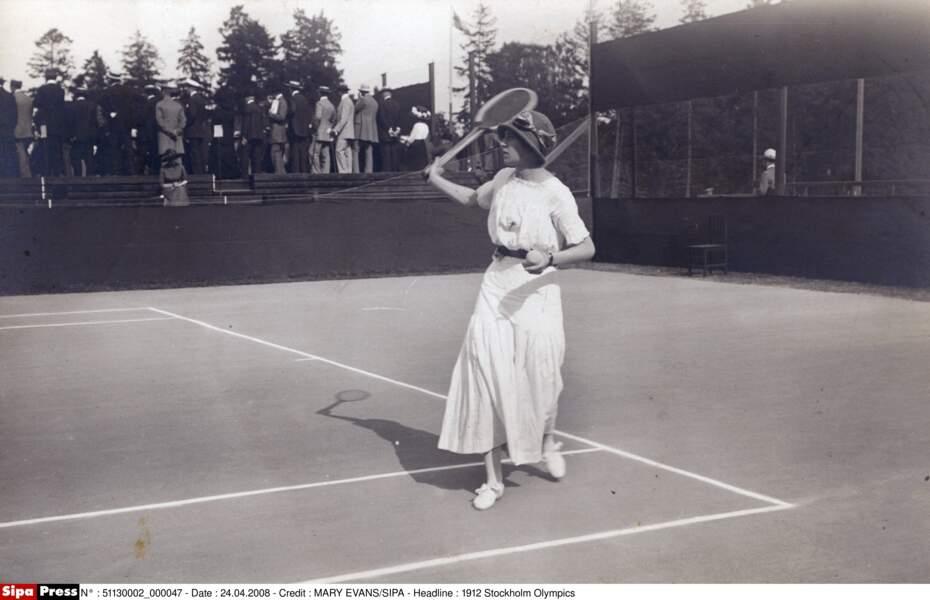 En 1913 et 1914, Marguerite Broquedis brille à Roland-Garros