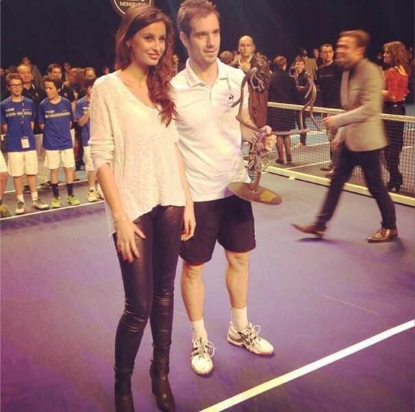 Autre Miss, autre ambiance, avec Malika Ménard, fan de tennis !