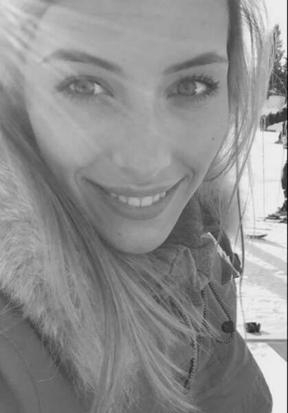 Camille Cerf, Miss France 2015, a passé les fêtes au ski