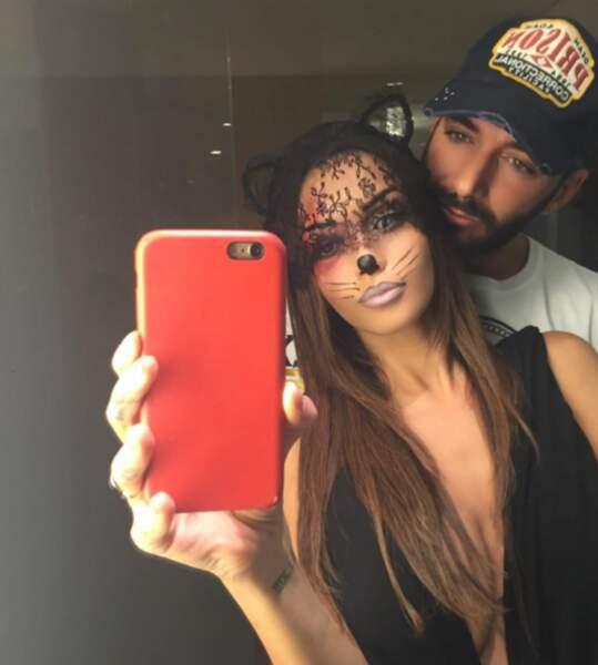 Par contre, Thomas Vergara a copié Kim Kardashian en se déguisant en lui même.