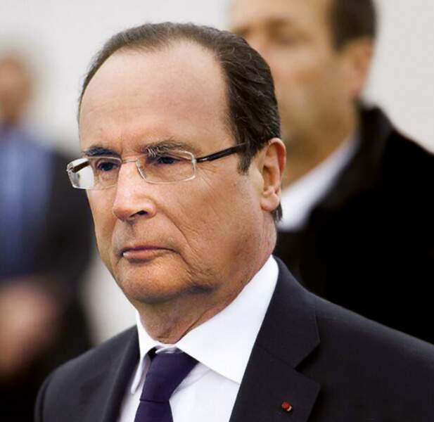 François Hollande et François Mitterrand