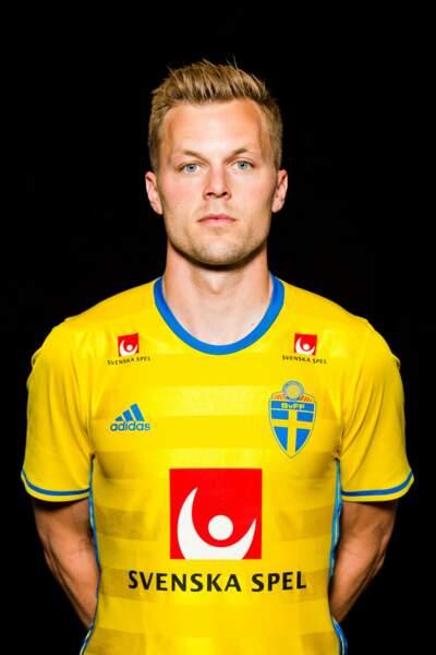 Sebastian Larsson et sa blondeur toute suédoise