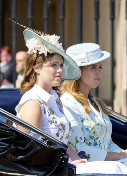 Les princesses Eugénie et Béatrice étaient également de la royal party !