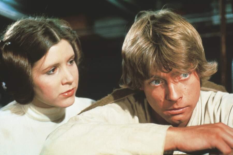 Leia et Luke, duo légendaire d'Un Nouvel espoir (1977)