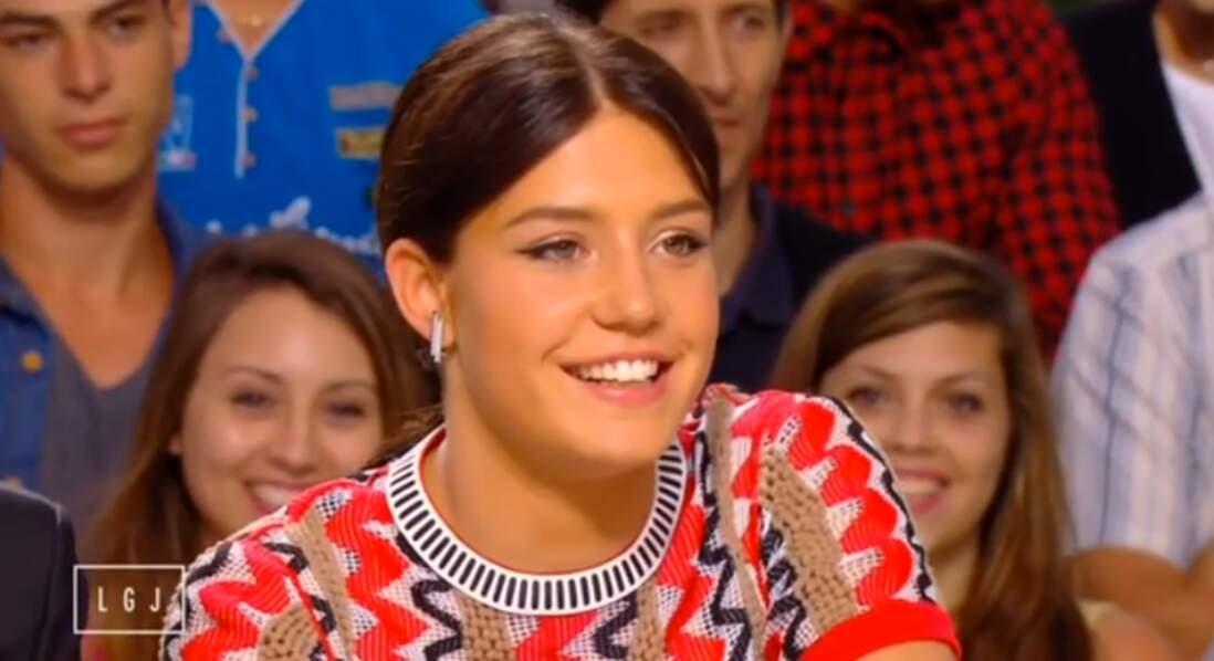 Adèle Exarchopoulous, elle, a préféré une tenue très bariolée...