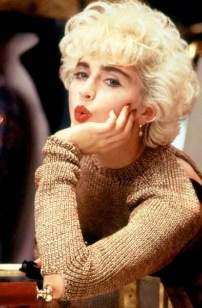 Madonna, la Marilyn des années 80 !