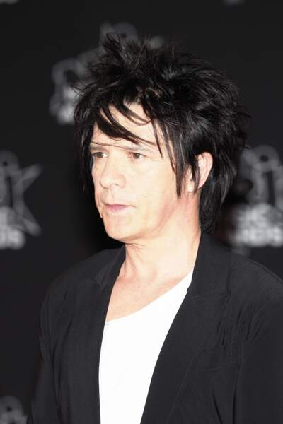 Nicola Sirkis du groupe d'Indochine…