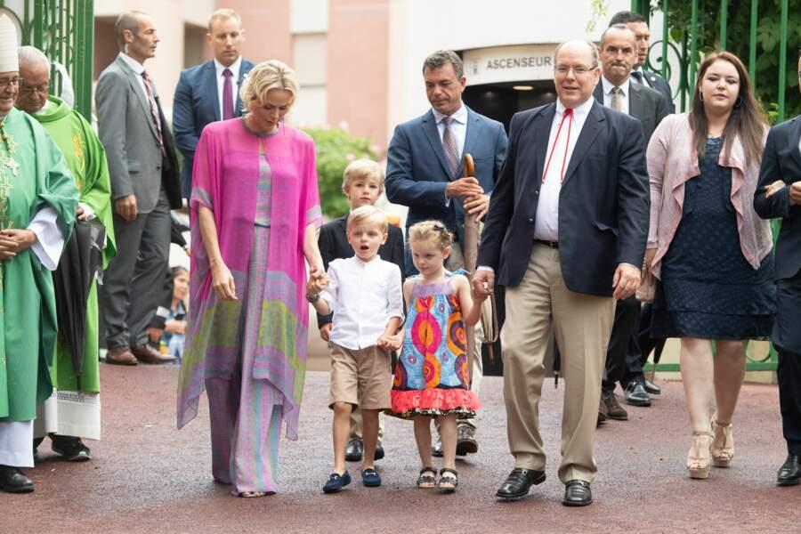Le parc Princesse-Antoinette de Monaco accueillait le pique-nique annuel du Rocher