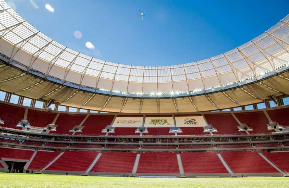 Estádio Nacional (Brasilia) 70 064 places