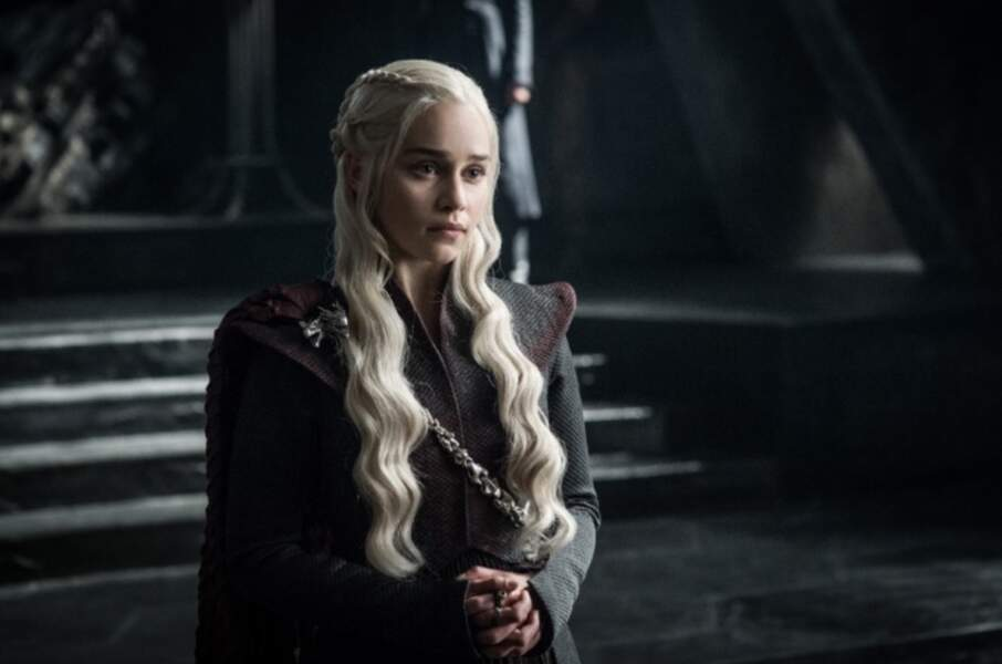 Et dans la saison 7, elle a encore plus l'air d'une reine