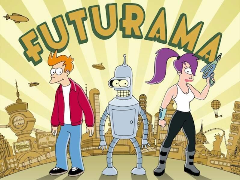 Futurama (1999 à 2003, puis 2010 à 2013)