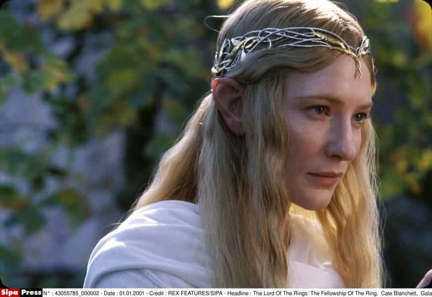 L'Elfe Galadriel, campée par Cate Blanchett