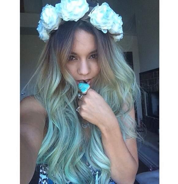 Ou plutôt bleu sirène façon champêtre ?